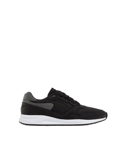 Pantofi sport stil urban negri