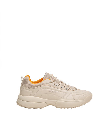 XDYE chunky sole trainers