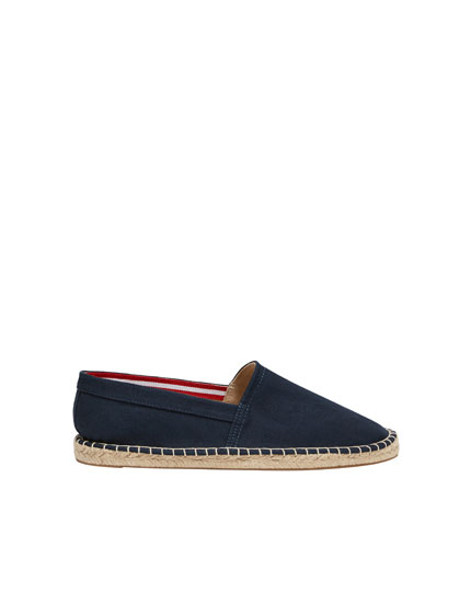 Basic blue espadrilles