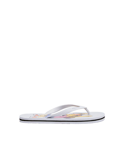 The Simpsons ™ pool sandals