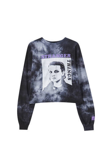 Stranger Things Eleven tie-dye T-shirt