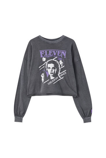 Stranger Things Eleven sister T-shirt