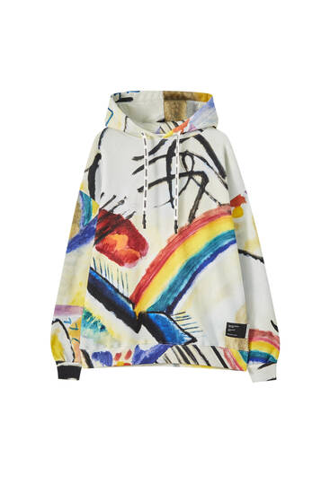 "Wassily Kandinsky ""Cossacks"" hoodie"