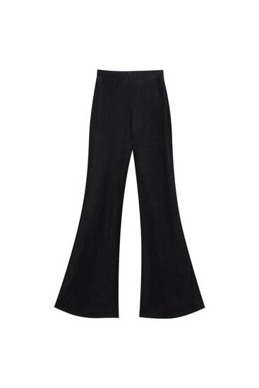 Loose-fitting corduroy trousers