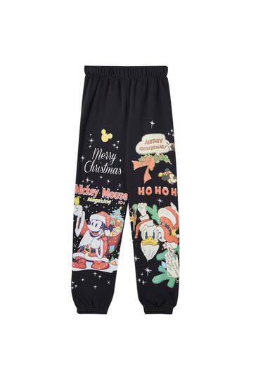 Mickey Mouse Christmas joggers