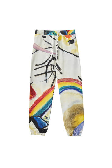 "Wassily Kandinsky ""Cossacks"" trousers"