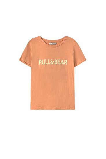 T-shirt basique avec logo
