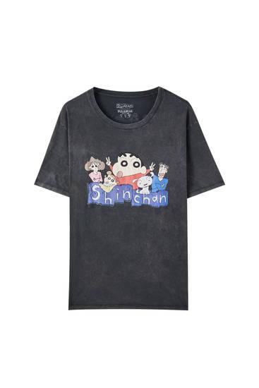 Shin-chan characters T-shirt