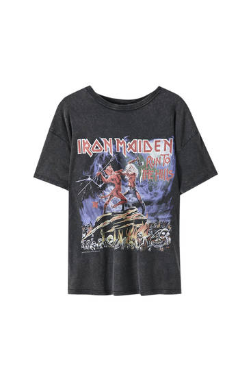 Iron Maiden illustration T-shirt