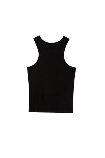 Camiseta tirantes espalda nadador