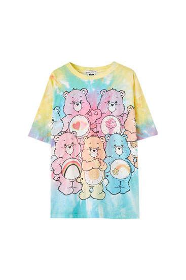 T-shirt Care Bears tie-dye