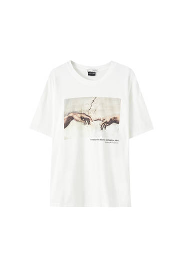 """The Creation of Adam"" T-shirt"