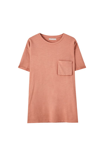 Minirobe coupe t-shirt