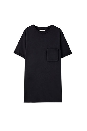 T-shirt style mini dress