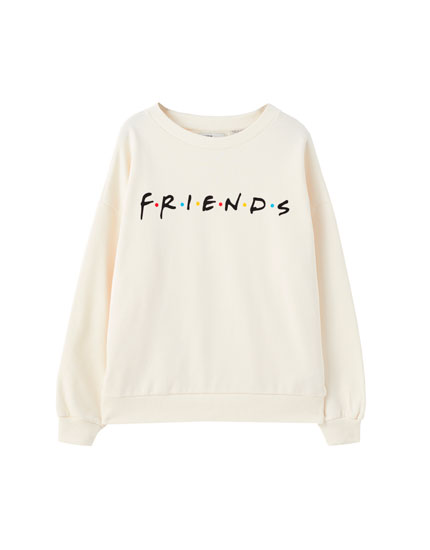 Sudadera Friends blanca