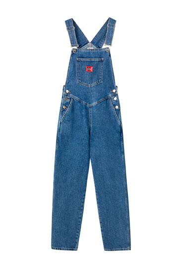 80s Mickey Mouse denim dungarees