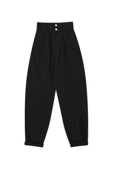 Jeans slouchy goma ancha