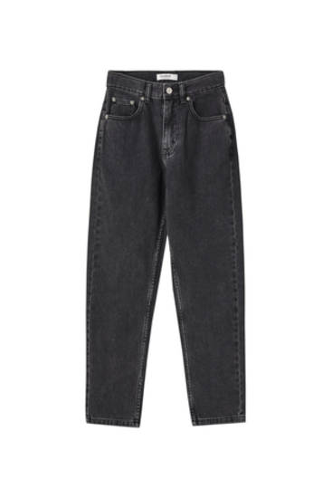 Τζιν παντελόνι mom fit basics