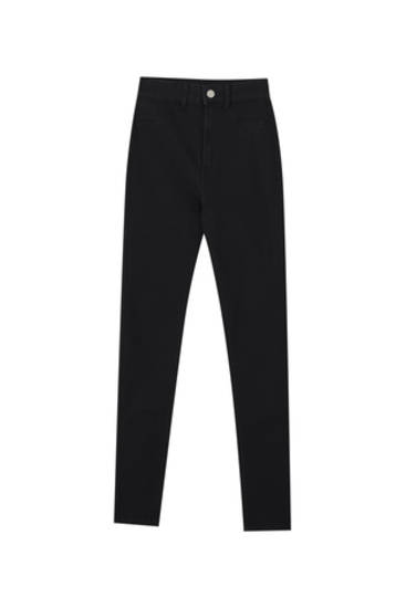 Super stretch high-waist jeggings