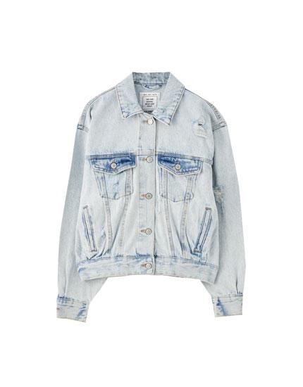 '80s-style denim jacket