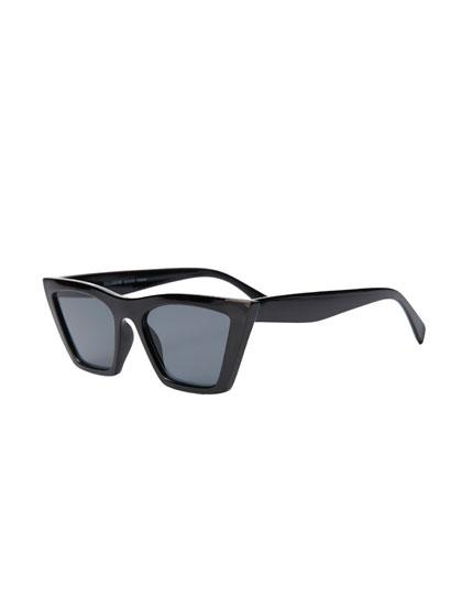 Γυαλιά ηλίου cat eye με λεπτό σκελετό