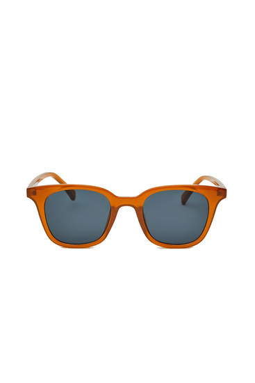 Gafas de sol básicas cuadradas
