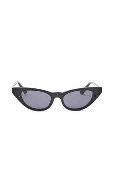Gafas de sol negras cat eye