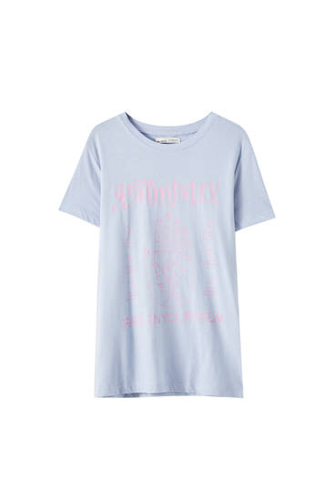 """T-shirt with """"Palmistry"""" illustration"""
