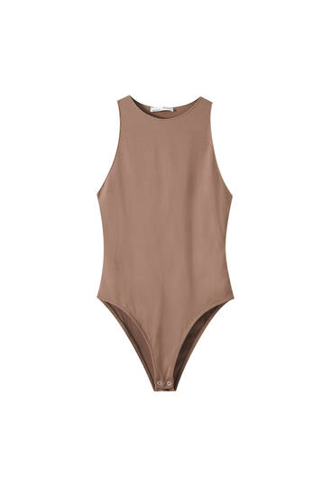 Basic sleeveless bodysuit