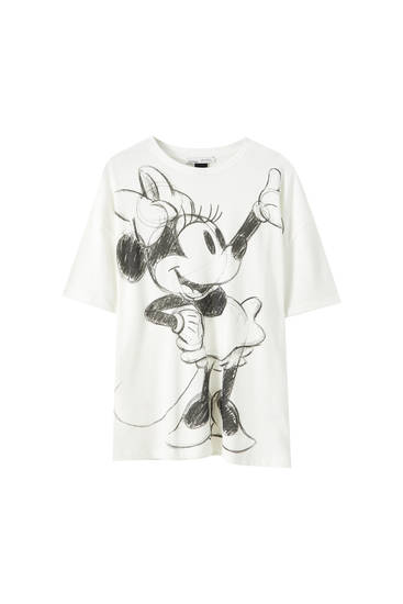 Camiseta blanca Minnie Mouse