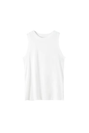 T-shirt basique sans manches