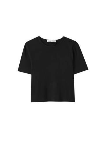 Camiseta espalda abierta