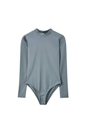 Basic long sleeve bodysuit