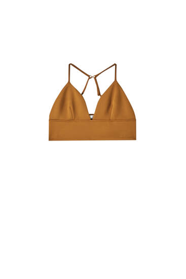 Strappy bralette top