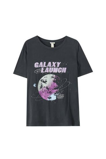 """""""Galaxy Launch"""" T-shirt"""
