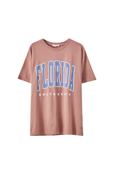 Shirt Florida in Rosa