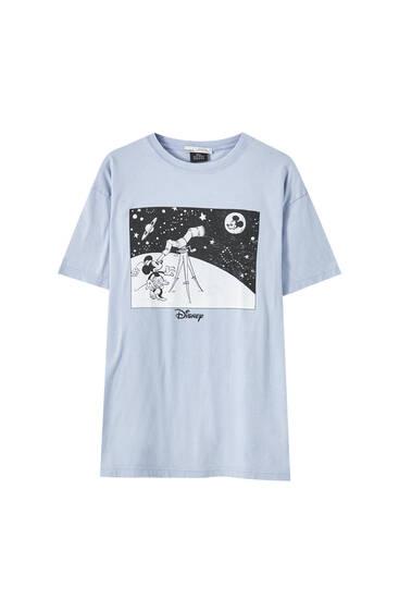 T-Shirt Micky Maus mit Teleskop