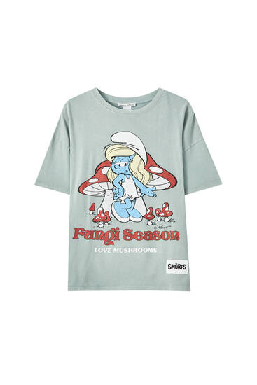 T-shirt Schtroumpfette
