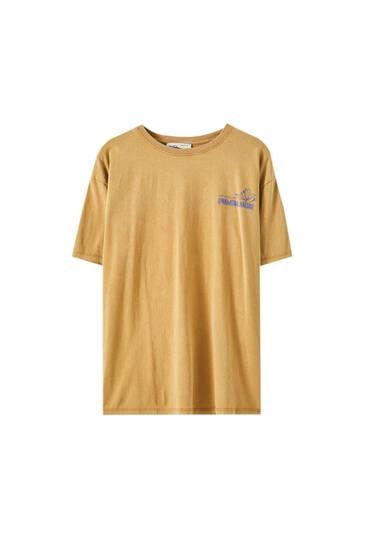 Shirt mit Grafik und Blumenprint
