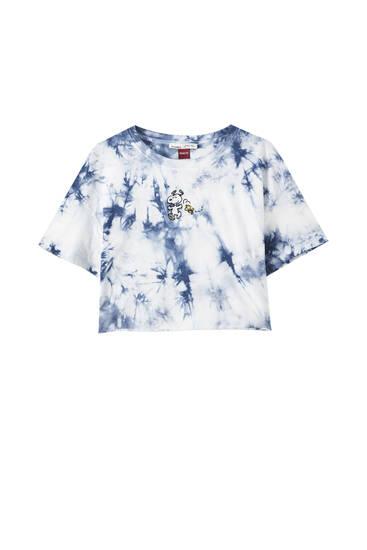 Camiseta Snoopy tie-dye