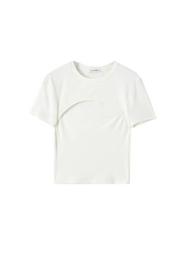 camiseta Beatles Camiseta en blanco con diseño a efecto de lápiz blanco y negro