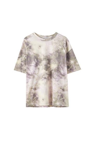 T-shirt tie-dye basique