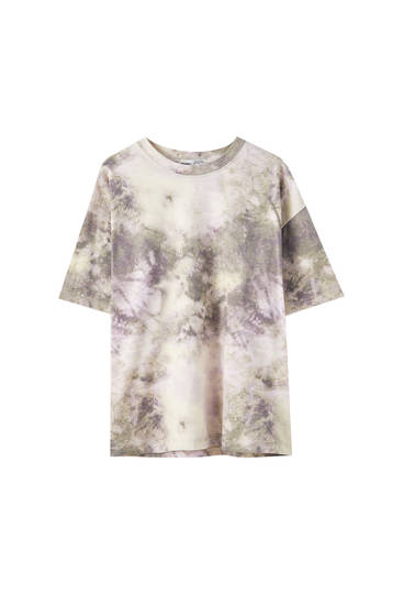 Camiseta tie-dye básica