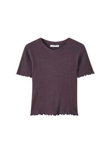 Dicht gewebtes Basic-Shirt