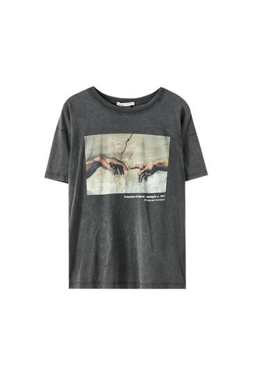 Sistine Chapel graphic T-shirt