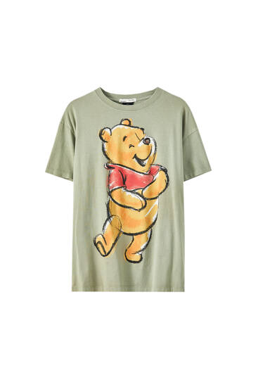 Winnie the Pooh illustration T-shirt