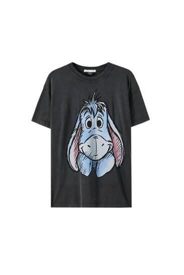 T-Shirt mit I-Aah-Illustration