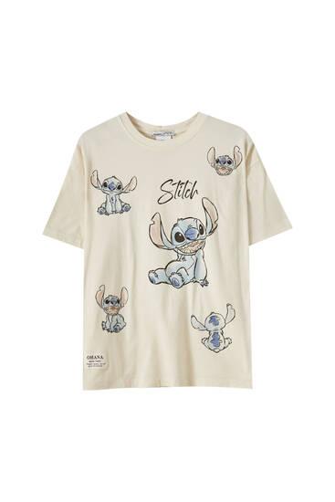 Weißes Shirt Stitch