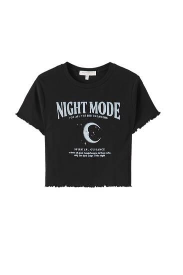"""Shirt mit Motiv """"Night Falls"""""""