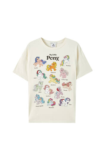 My Little Pony white T-shirt